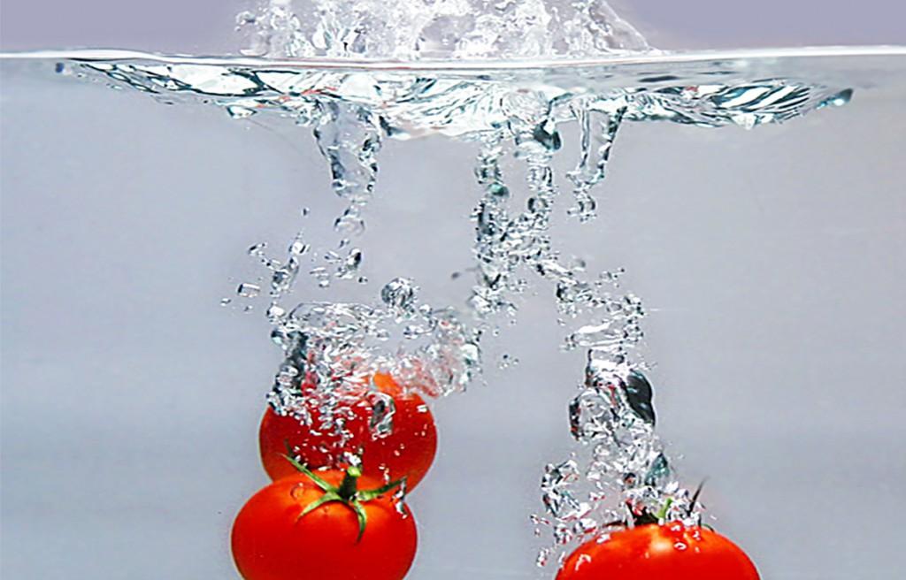 Produktfotografie von Tomaten bei Biegert & Funk in Schwäbisch Gmünd