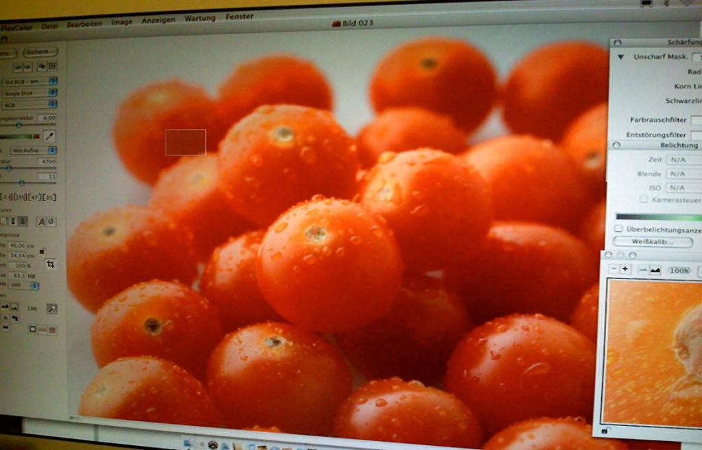 Tomatenbild Produktshooting Biegert&Funk