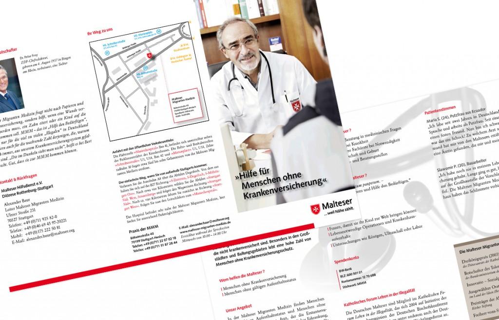 Printdesign Malteser Hilfsdienst Jubiläum