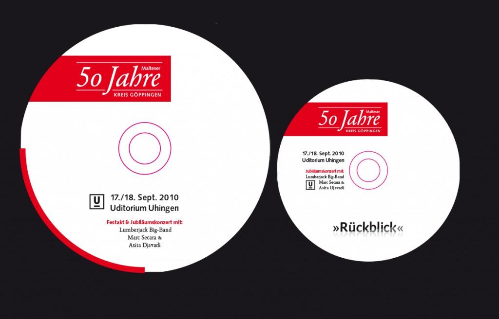 CD-Design Malteser Hilfsdienst Jubiläum