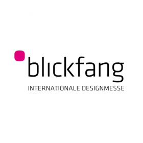 Logo der internationalen Designmesse Blickfang