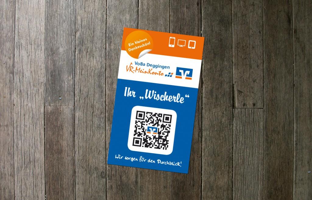Smartphone Reinigungspad Volksbank Deggingen