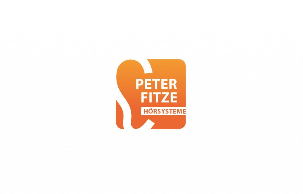 Peter Fitze Hörakustiker in Geislingen Beispiel Logodesign