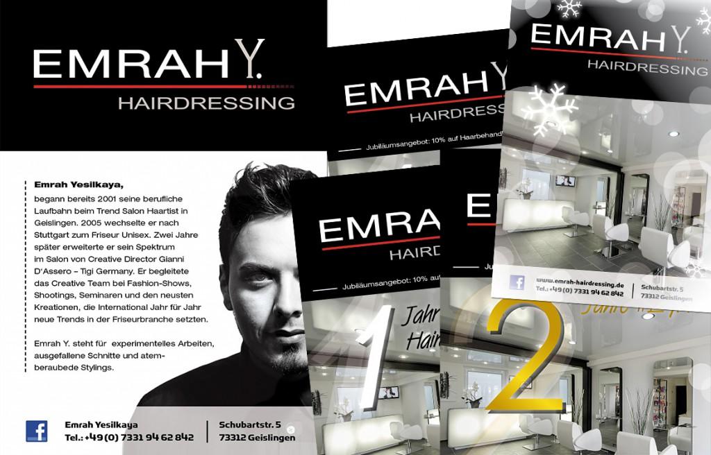 EmrahY. Hairdressing Anzeigen Friseur in Geislingen