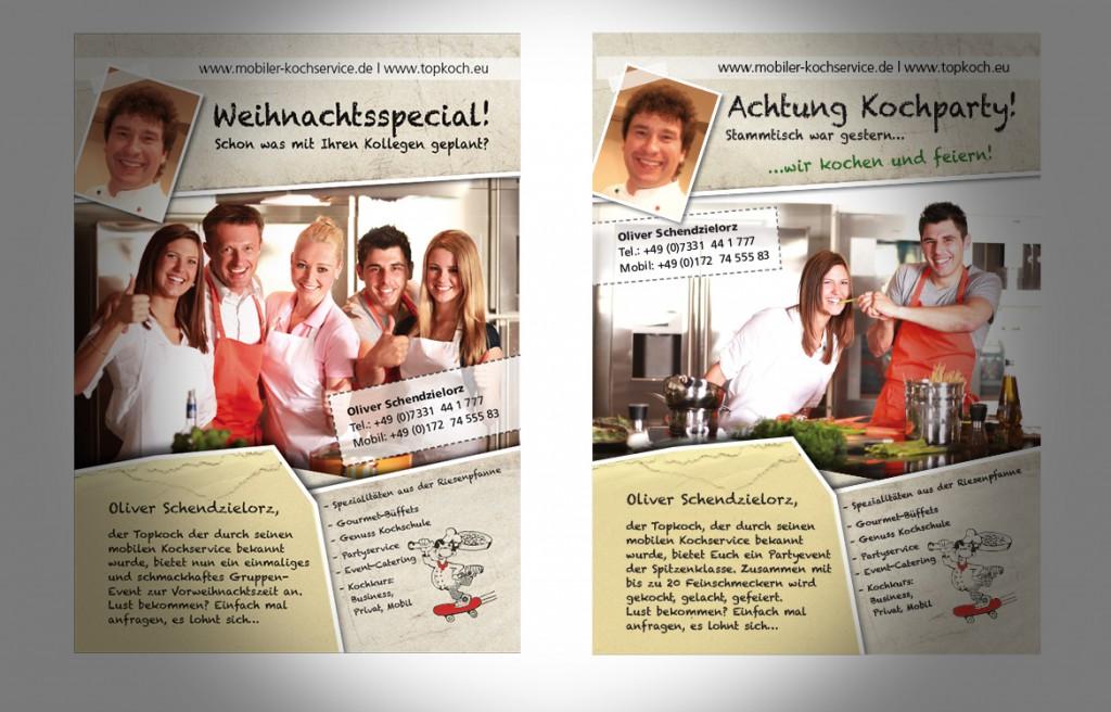 Anzeigen Oliver Schendzielorz Koch in Geislingen