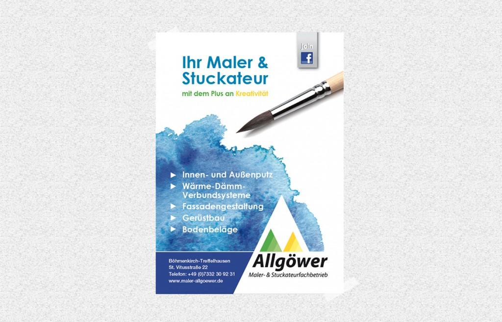 Maler Allgöwer Geislingen Anzeige