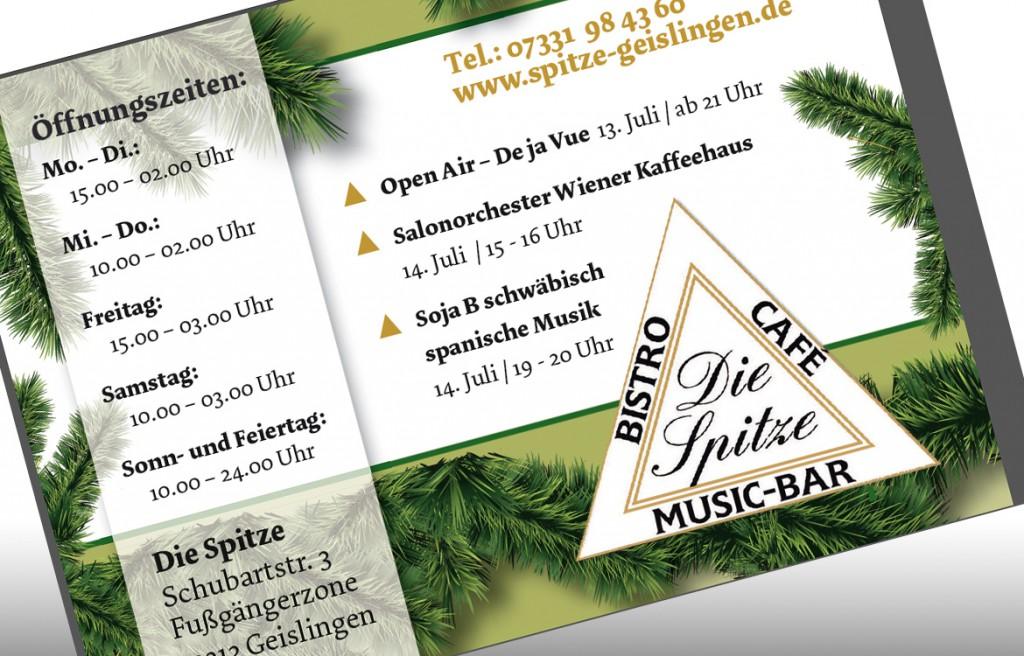 Cafe Bistro die Spitze in Geislingen Anzeigen