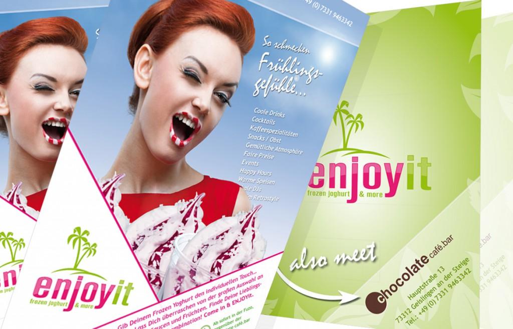 EnjoyIt Geislingen Plakate und Flyer