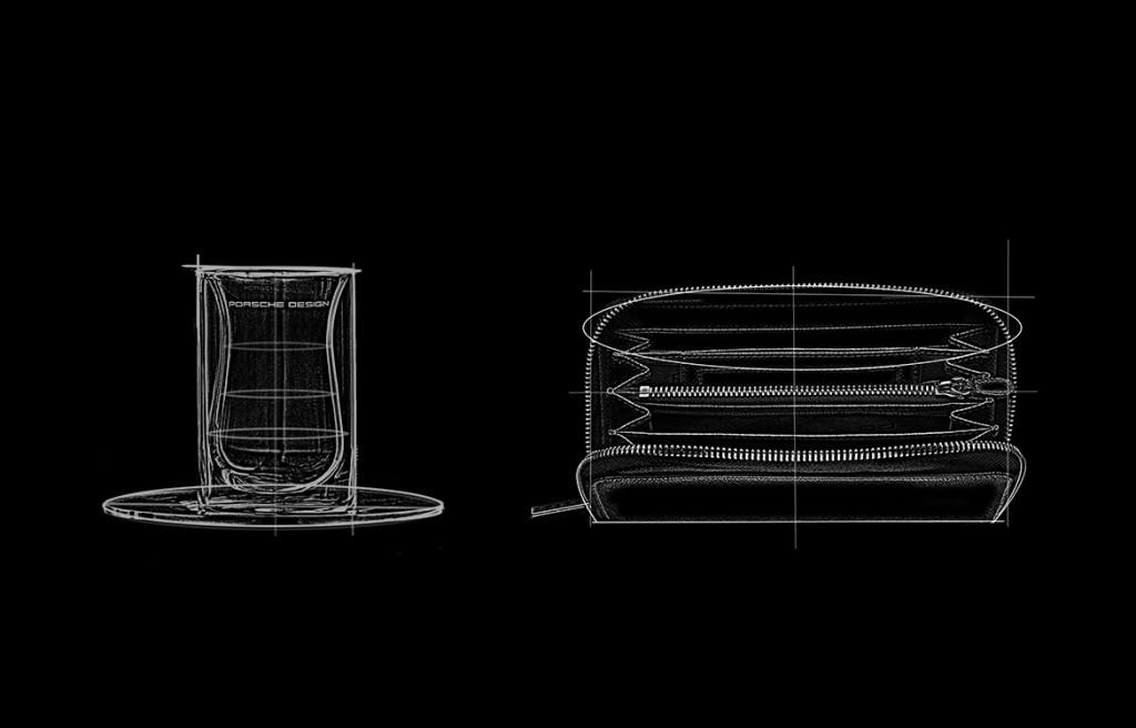 Porsche Design Designskizzen