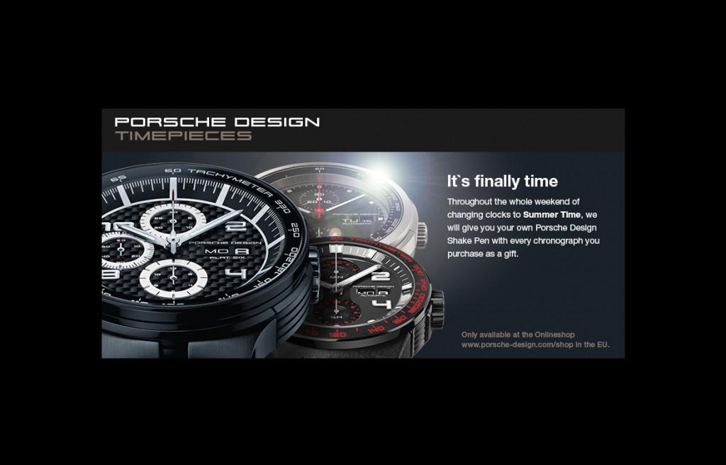 Porsche Design Timepieces Facebook-Banner
