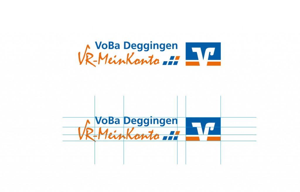 Logodesign Volksbank Deggingen VR-MeinKonto