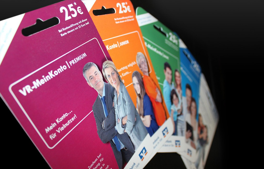 Plastikkarten Volksbank Deggingen VR-MeinKonto