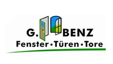 Logo des Kunden G.Benz Fenster Türen Tore