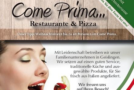 Come Prima Restaurant-Anzeigen im Koi thumbnail